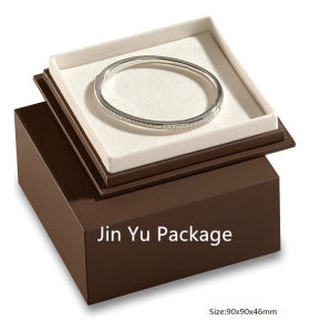 Luxury Handmade Square Wooden Gift Jewelry Box for Jewelry Sets pictures & photos