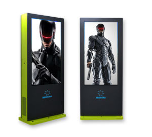 Wireless Battery Powered LCD Advertising Outdoor LED Large Screen Display pictures & photos