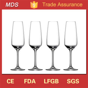 Made in China LED Crafted Champagne Glass Flutes in Vase pictures & photos