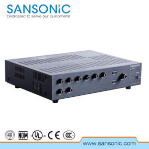 PA System Mixer Amplifier for Public (PAA120)