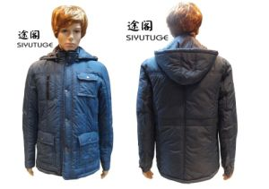 Men Mens Fashion Hoody Winter Padding Coat (SY-1552) pictures & photos