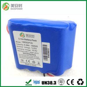 Only 8 Cells 14.8V 6800mAh Rechargeable Li-ion Battery pictures & photos