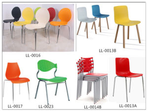 Restaurant Plastic Stacking Folding Dining Chair pictures & photos