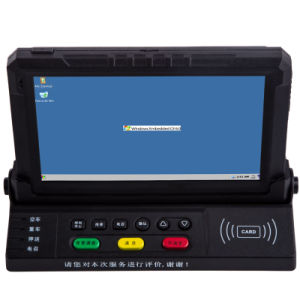 7 Inch Sceen Size Wince Mobile Data Terminal for Vehicle Embedded Computer, Fleet Management