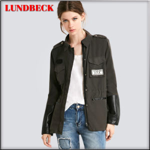 Fashion Women Jacket with Cotton pictures & photos