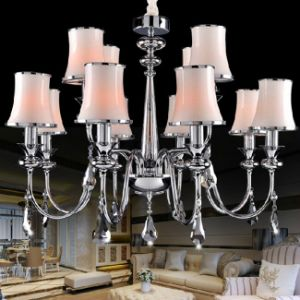 Special Design Pendant Lights Hotel Crystal Chandelier (GD-111-8+4) pictures & photos