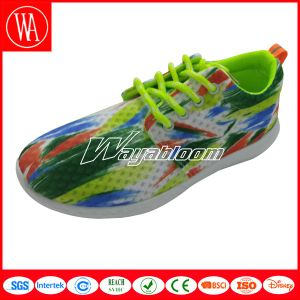 Summer Mesh Breathable Unisex Leisures Shoes with Printing