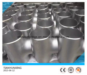Stainless Steel Ss321 Pipe Fittings Welded Equal Tee pictures & photos