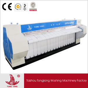 Textile Ironing Machine 3.3 Meter Rollers pictures & photos