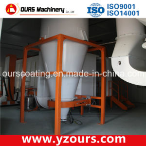 Best Quality Powder Coating Line with Mono Cyclone Recovery System pictures & photos