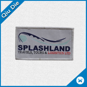 Low MOQ Woven Labels for Women′s Apparel Patch pictures & photos