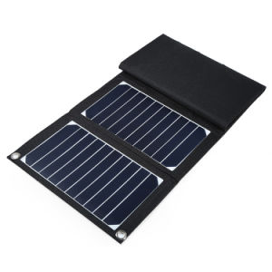 Waterproof 15W Sun Power Solar Charger for Power Bank pictures & photos