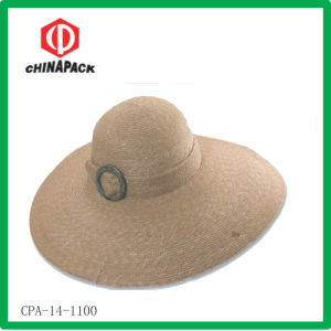 Lady Summer Straw Hat (CPA-14-1100) pictures & photos