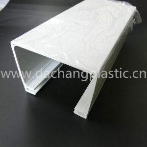 Custom White Plastic Extrusion Profile pictures & photos