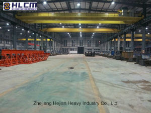 40t/5t-18.5m/6m Double Girder Overhead Bridge Crane pictures & photos