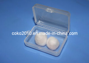 Wholesale Wax Cotton Earplugs with Case pictures & photos