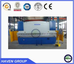 WC67 K Hydrauliu press brake, steel reinforcement hydraulic press brake pictures & photos