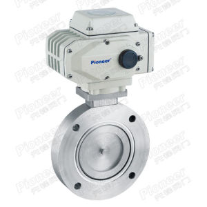 Electric High Vacuum Butterfly Valve (GID) pictures & photos