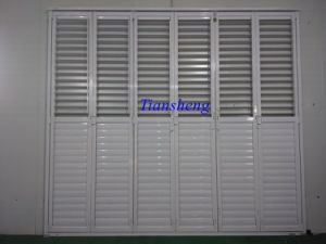 Aluminum Bifold Shutter Door pictures & photos