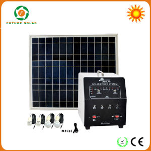150W Solar Power System with Pure Sine Wave Inverter Fs-S103
