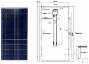 230W-250W Polycrystalline Silicon PV Solar Panel for off Grid Solar Power System pictures & photos