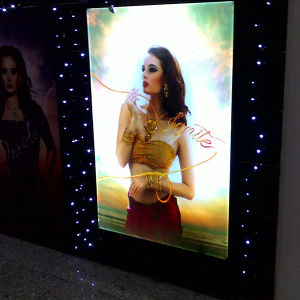 LED Wall Mounted Aluminum Poster Display Frames pictures & photos