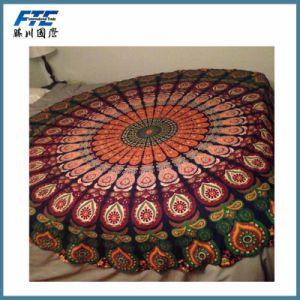 Various New Microfiber Round Mandala Tassels Beach Towels pictures & photos
