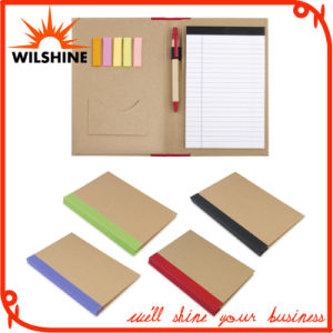 Paper Cover Daily Use Memo File Folder with Pen for Company′s Meeting (FM405) pictures & photos