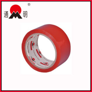 Red Customized Logo and Color BOPP Packing Tape