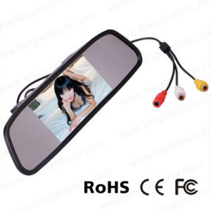 4.3 Inch TFT Car Auto LCD Screen Rear View Mirror Monitor pictures & photos
