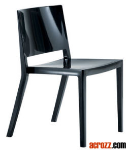 Modern Designer Furniture Plastic Stackable Dining Lizz Chair pictures & photos