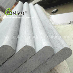 Grey Color Honed Finish Basalt Bullnose Swimming Pool Copings pictures & photos