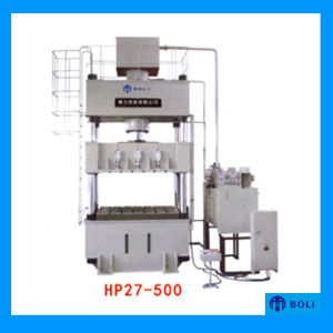 HP27 Series Four-Column Single-Movement Hydraulic Press for Sheet Metal Drawing (Stamping) pictures & photos