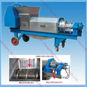 Hot Selling Double Screw Fruit Juice Making Machine pictures & photos