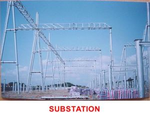 Single Tube High-Quality Transmission Tower pictures & photos