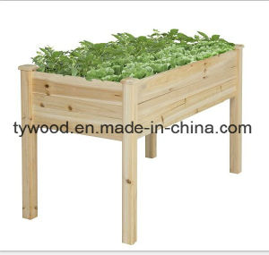 Wooden Balcony Planter Box Trough Herb Planters pictures & photos