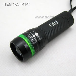 3 Watt Collapsible LED Flashlight (T4147) pictures & photos