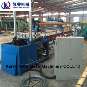 Auto Diamond Mesh Machine / Chain Link Fence Machine pictures & photos
