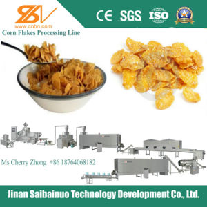 Breakfast Cereals Corn Flakes Processing Production Line pictures & photos
