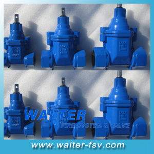 NPT Screwed Resilient Seat Gate Valve pictures & photos