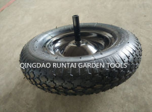 Cheapest Good Quality Large Quantity Air Rubber Wheel (4.00-8) pictures & photos