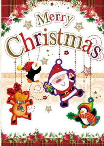 New Design Merry Christmas Greeting Cards