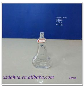 Whoelesale 50ml Mini Glass Wine Bottle pictures & photos