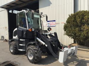 2017 New Design Hzm908 Jn908 Zl08 Wl80 Mini Agriculture Wheel Loader with A/C pictures & photos
