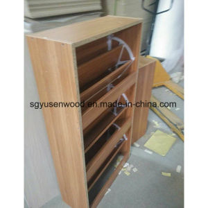 Cheap Melamine Particle Board Shoe Cabinet pictures & photos