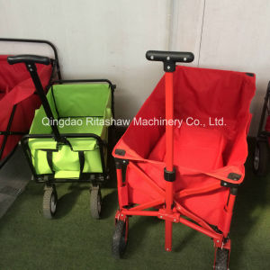 Folding Wagon 45kg Weight Capacity Compact Sports Trolley Dolly