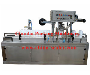 Wet Wipes Bucket Filling Sealing Machine (BG32A-2) pictures & photos