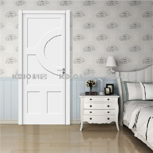 Eco-Friendly Fire-Resistant WPC Interior Soundproof Door for Bedroom (YM-033) pictures & photos