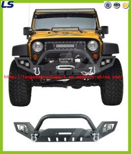 07-16 for Jeep Wrangler Jk Lp3 Full Width LED Power Steel Iron Front Bumper