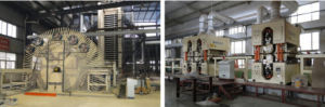 HDF PVC Sticking Machine Production Line pictures & photos